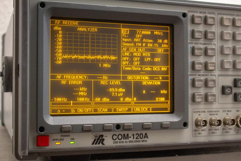 IFR COM-120A - RF Imaging & Communications